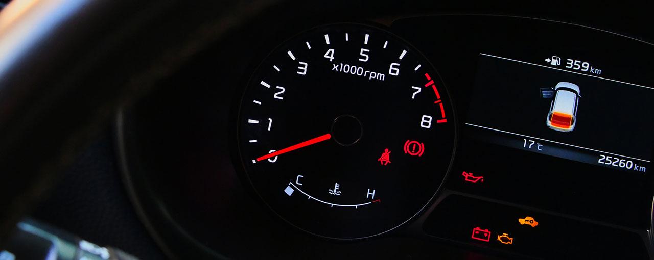 Diagnostic moteur et voyants lumineux